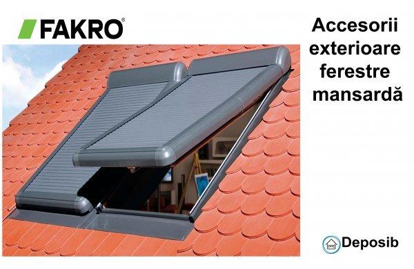Protejaţi-vă împotriva căldurii cu accesoriile  Fakro
