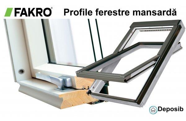 Tipuri de profile geamuri Fakro