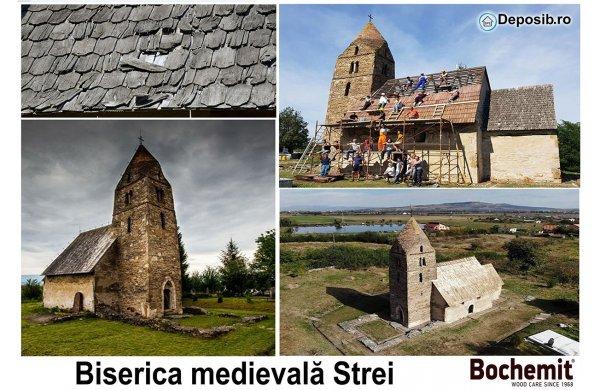 Tratament acoperis biserica de secol XIII