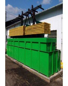 Tratament lemn exterior Bochemit Forte Profi verde 60 Kg
