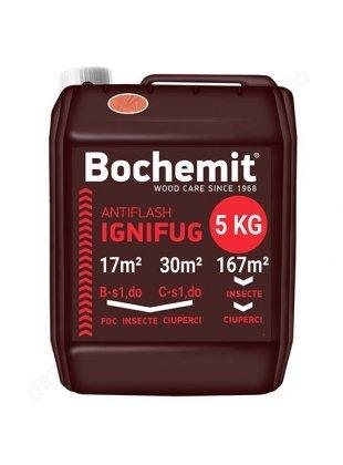 Solutie ignifuga si anticarii - Bochemit Antiflash 5 KG maro