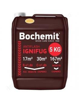 Solutie ignifugare si anticarii - Bochemit Antiflash 5 KG transparent