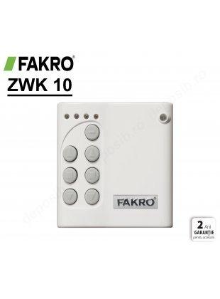 Comutator de perete multi-canal wireless Fakro ZWK10
