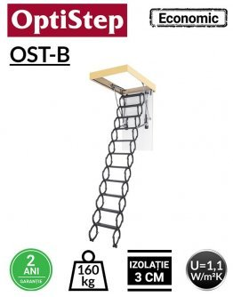 Scara metal pantograf Optistep OST-B