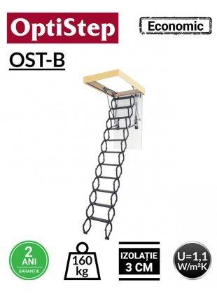 Scara metal pantograf Optistep OST-B