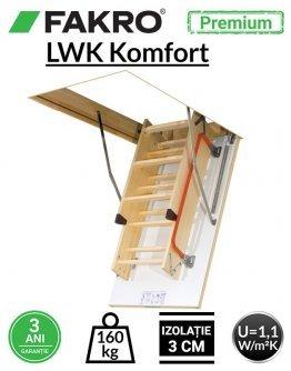 Scara pod Fakro LWK Komfort H280 cm