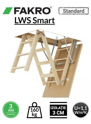 Scara pod Fakro LWS Smart