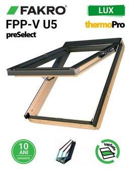 Fereastra mansarda cu dubla deschidere Fakro FPP-V U5 preSelect