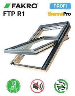 Fereastra mansarda cu izolare fonica Fakro FTP R1 55x78