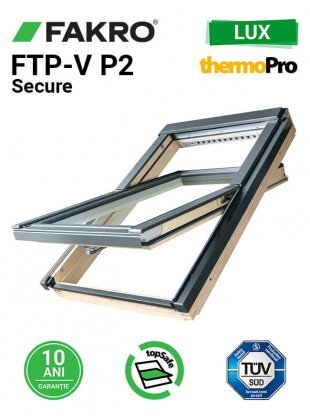 Fereastra mansarda antiefractie Fakro FTP-V P2 Secure