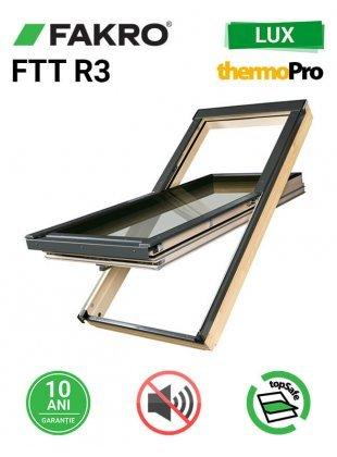 Fereastra mansarda cu izolare fonica Fakro FTT R3 55x98