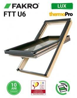 Fereastra mansarda supertermoizolatoare Fakro FTT-U6 Thermo
