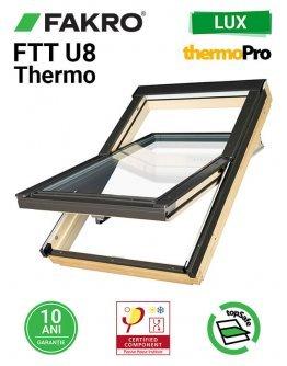 Fereastra mansarda supertermoizolata Fakro FTT-U8 Thermo