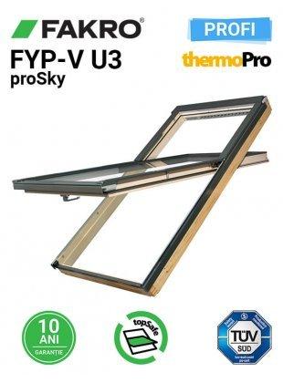 Ferestra mansarda superinalta FYP-V U3 proSky 78X140