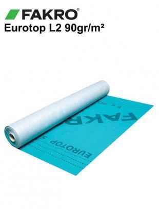 Folie difuzie acoperis anticondens Fakro Eurotop L2 90gr/mp