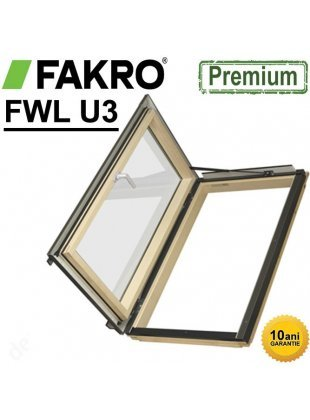 Fereastră acces acoperis izolata+rama Fakro FWL 66x118