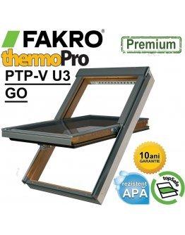 Fereastra mansarda Fakro PTP-V U3 GO - rama etansare inclusa