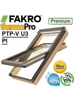 Fereastra mansarda Fakro PTP-V U3 PI - rama etansare inclusa