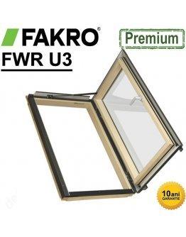 Fereastră mansarda acces acoperis izolata+rama Fakro FWR