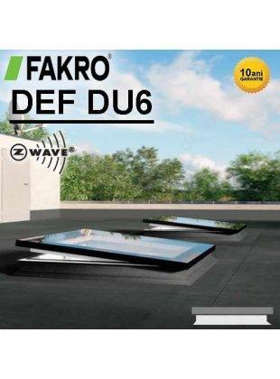 Fereastra electrică acoperiş terasă Fakro DEF DU6