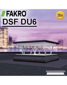 Fereastra evacuare fum acoperis terasa Fakro DSF DU6