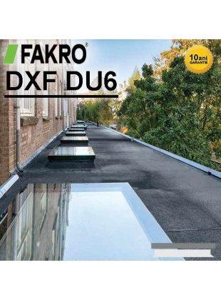 Fereastra fixă acoperiş terasă Fakro DXF DU6
