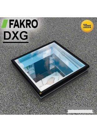 Fereastra fixă acoperiş terasă Fakro DXG