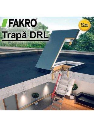 Trapa acces acoperis terasa Fakro DRL