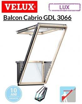 Balcon Velux Cabrio pentru mansarda GDL 3066 94x252cm- Kripton