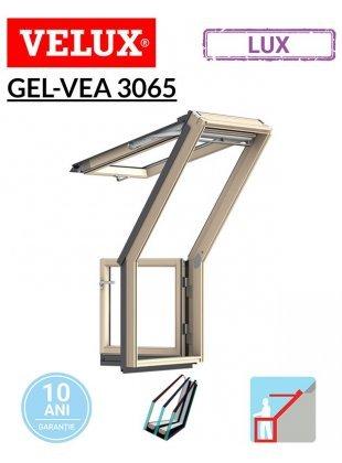 Fereastra de mansarda pentru acces pe terasa GEL-VEA 3065