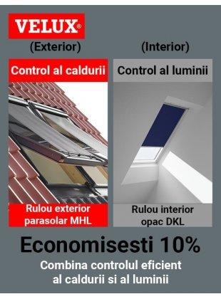 Pachet confort Velux Standard Plus (DOP)