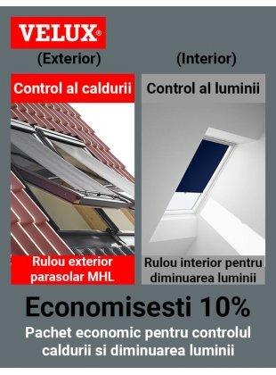 Pachet confort Velux Standard (ROZ)