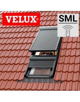 Roleta exterioara Velux SML - actionare electrica