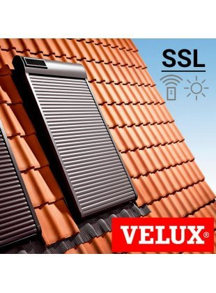 Roleta exterioara Velux SSL - cu motor solar