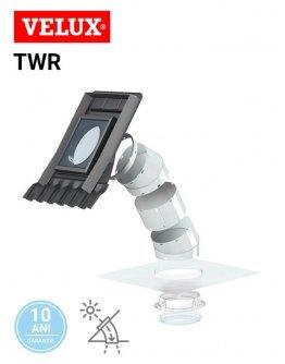 Tunel solar de lumina rigid pentru acoperis inclinat Velux TWR