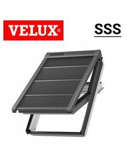 Roleta exterioara economica Velux SSS - cu motor solar