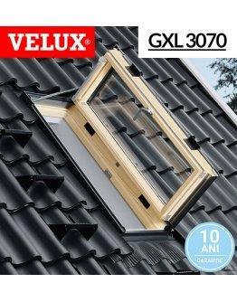 Fereastra Velux pentru acces pe acoperis GXL 3070  66x118 - spatii locuite
