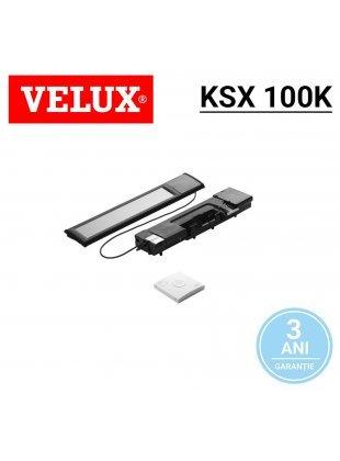 Motor solar Velux KSX 100K cu intrerupator de perete, fara fir
