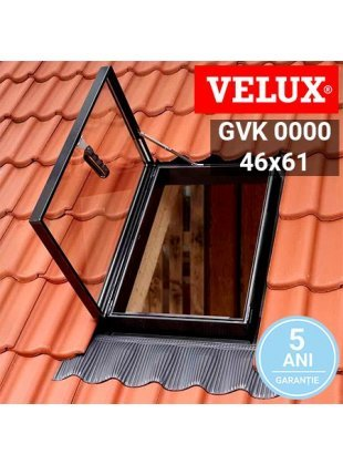 Fereastra Velux pentru acces pe acoperis GVK 0000 46x61