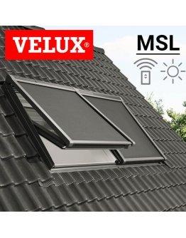 Rulou exterior parasolar Velux MSL cu actionare electrica - motor solar