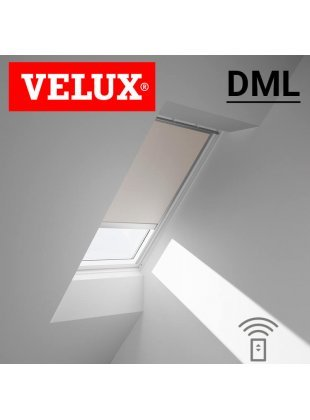 Rulou interior opac Velux DML cu actionare electrica