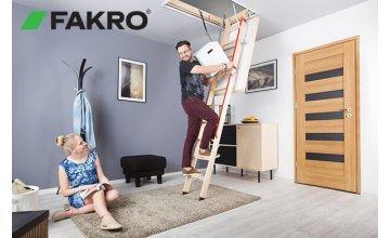 Un nou  model de scara de lemn de la Fakro- LWL Extra.